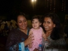 With  Aamna and her cute darling, Zainab